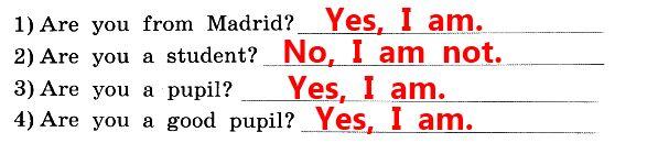 1. Послушай, как Энн ( Ann) отвечает на вопросы диктора, (36), и запиши её ответы.