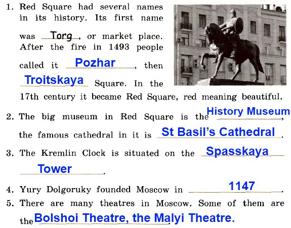 A. How much do you know about Moscow?